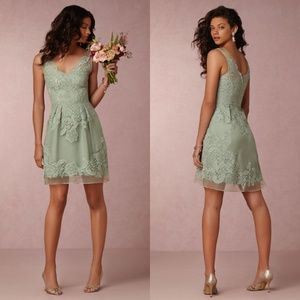 Yoana Baraschi BHLDN Celestina Sage Dress